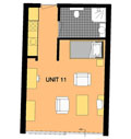 Plattegrond Appartement Syllable
